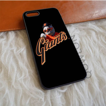San Francisco Giants Baseball Art iPhone 5 | 5S | SE Case