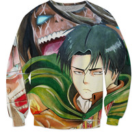 Vanime Attack On Titan sweater