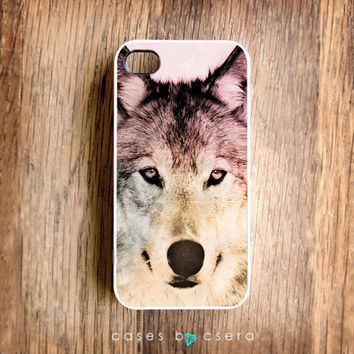 Wolf iPhone 5 Case iPhone Case Accessories Cell by casesbycsera