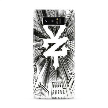 ZOO YORK URBAN WHITE Samsung Galaxy Note 8 Case