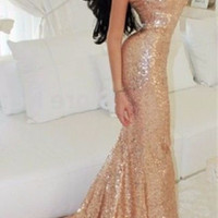 Anita Sequined Luxury Dress