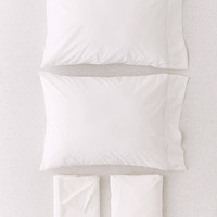 Solid Percale Cotton Sheet Set | Urban Outfitters