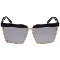 Silver Lens Square Sunglasses
