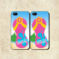 Best Friends Beach Bums iPhone 4 Case  iPhone 5 by mylittlecase