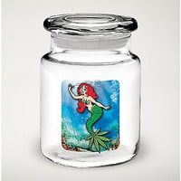 Mermaid Pot Leaf Jar - 6 oz - Spencer's