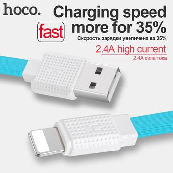 HOCO 8 pin 0.3m 1.2m 2m OTG Fast Charging Cable USB Data Sync For Lightning For iPhone 6 7 6s plus 5 5s Luxury Retail Package