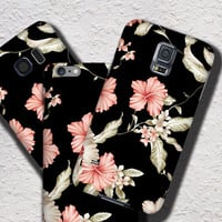 Lily iPhone 6 Case Floral iPhone 5C Case, Floral iPhone 5S Case, Floral iPhone 6S Plus Case, Samsung Galaxy Note case black