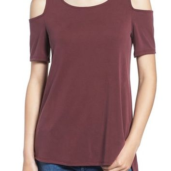 Ten Sixty Sherman Cold Shoulder Tee | Nordstrom