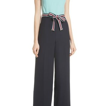 Ted Baker London Colorblock Jumpsuit | Nordstrom