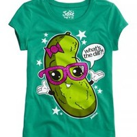 What's The Dill Pickle Graphic Tee | Foods | Graphic Tees | Shop Justice