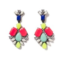 Candy Gemmed Statement Earrings