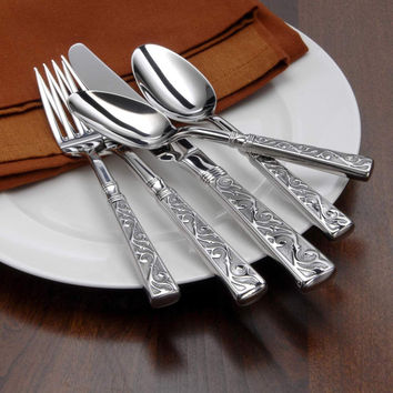Oneida Castellina 20 Piece Fine Flatware Set, Service for 4