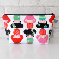 Make Up Bag // Toiletry Bag - Hello Tokyo Characters, waterproof lining