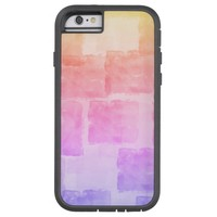 Rainbow Watercolor Art Ombre Pastel Tough Xtreme iPhone 6 Case