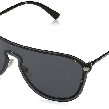 Versace Women's Shield Sunglasses
