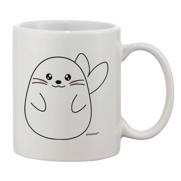 Cute Seal Printed 11oz Coffee Mug by TooLoud