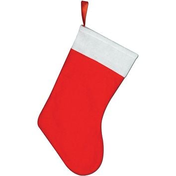 Felt Christmas Stocking - 24 Units
