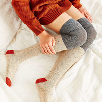 Colorblock Cozy Over-The-Knee Sock - Urban Outfitters
