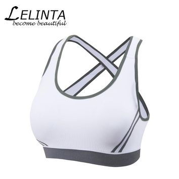 USPS Drop Ship Absorver Sweat Sport Bra For Women Gym Running Yoga Sport Bra Set Girl Underwear S M L XL Free Shipping