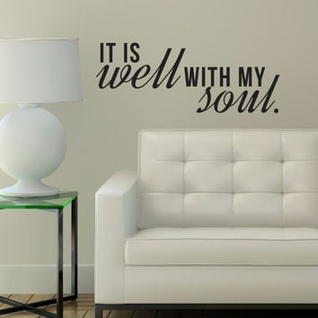 It is Well with My Soul Quote