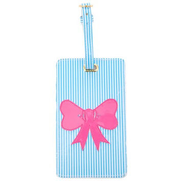 LoloBag - Luggage Tag / Pink Bow