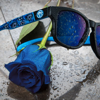 Cruiser Sunglasses: Winter Hyper Floral Customs