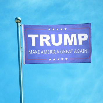 American Trump Flag for President 3x5ft Flag USA Banner Home Bedroom Decals Drop Shipping
