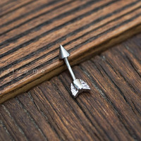 belly ring belly button ring belly button jewelry arrow boho bohemian jewelry