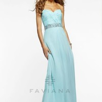 Faviana 7334 at Prom Dress Shop