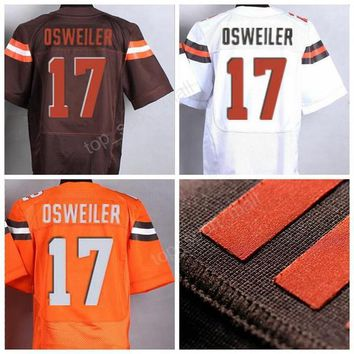 2017 NWT 17 Brock Osweiler Jersey Men Stitched Sport American Football Jerseys Brock Osweiler Sale Breathable Excellent Quality