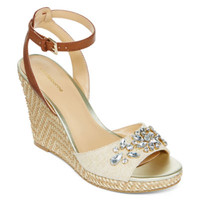 Liz Claiborne® Sellina Wedge Sandal - JCPenney