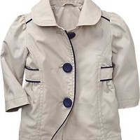 Bow-Tie Trench Coats for Baby