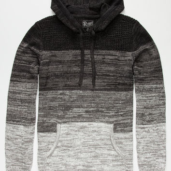 Retrofit Alan Mens Sweater Black  In Sizes
