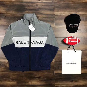Balenciaga Woman Men Fashion Cardigan Jacket Coat Knitwear