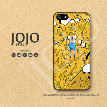 Adventure time iPhone 5 Case, iPhone 5c Case, iPhone 4 Case, iPhone 5s Case, iPhone 4s Case Disney Phone Cases, Phone Covers - J165