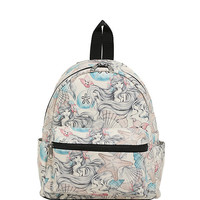 Disney The Little Mermaid Ariel Sketch Mini Backpack