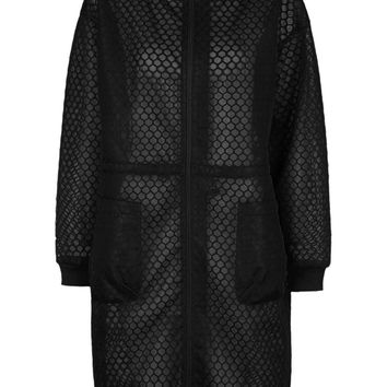 Hexagon Mesh Parka by Ivy Park - Topshop