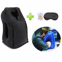 2017 Newest Designed Travel Pillow Neck Pillow For Airplanes, Car Sleeping/Train/Office Nap Inflatable Travel Pillow