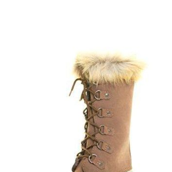 Women's Dylan-70 Lace Up Winter Duck Boots