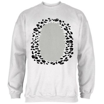 DCCKJY1 Halloween Snow Leopard Costume Mens Sweatshirt