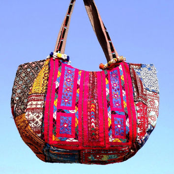 Tribal old Banjara Bags ethnic bags/ cotton bags/ antique bags coin bags gypsy bags patch work bags bohemian tote bags embroidery bags