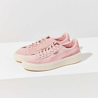 Puma Suede Summer Satin Platform Sneaker | Urban Outfitters