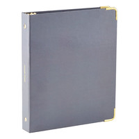 Grey Mini Three-Ring Binder