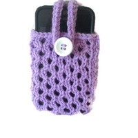 Knitting Pattern Phone / iPod Cozy Instant Download PDF Easy With Strap