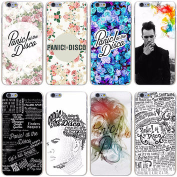 Panic! At The Disco - Hard Transparent Case for iPhone