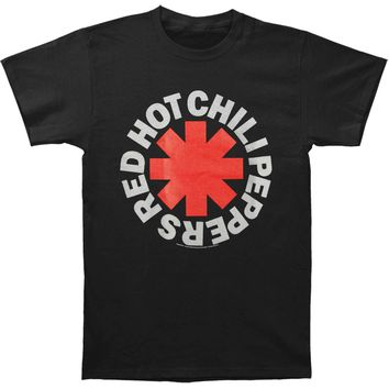Red Hot Chili Peppers Men's  Classic Asterisk T-shirt Black