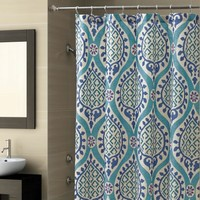 Croscill Modern Marrakesh Shower Curtain Shower Curtains