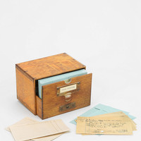 Card Catalog - Urban Outfitters