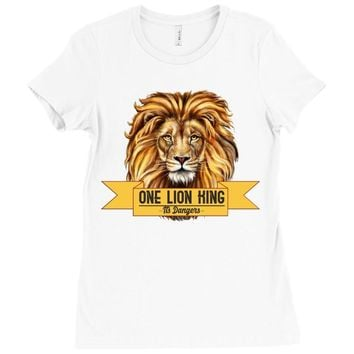 Lion King Ladies Fitted T-Shirt