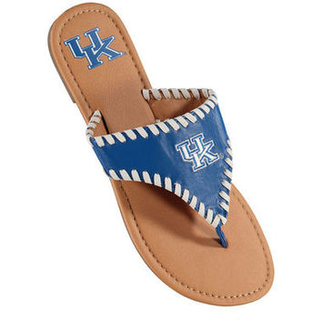 Kentucky Wildcats Women's Whip Stitch Sandals